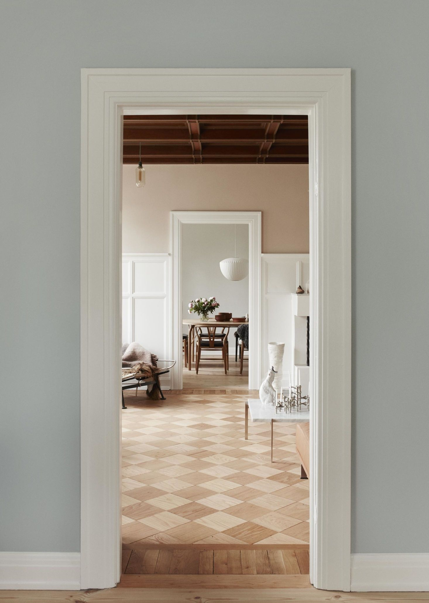 Photo of Little Pink House: A Creative Couple's Classic-with-a-Twist Home in Denmark – Remodelista