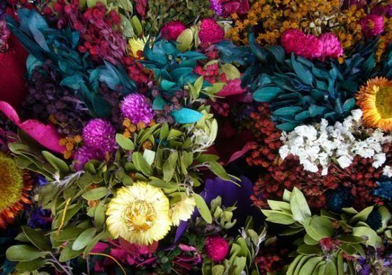 Decora con flores secas plantas flores y jardin flores secas decoracion flores y flores secas - Plantas secas decoracion ...
