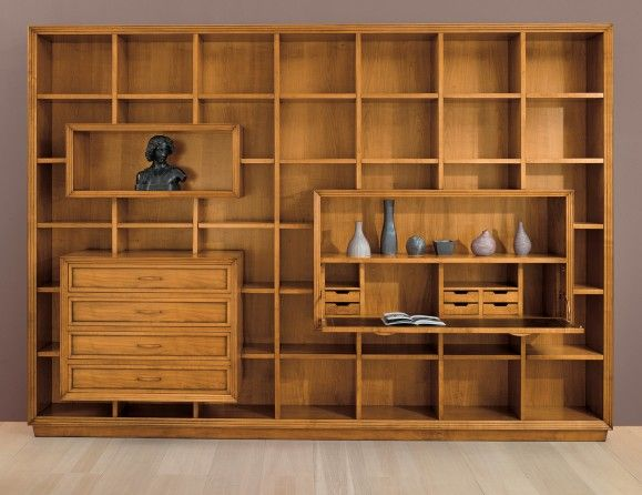 Composition 7 Italian Designer Modular Wall Unit System And