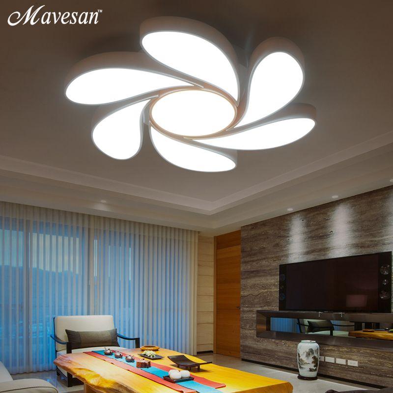Designer Bedroom Lamps Entrancing 2017 Led Ceiling Lights For Home Dimming Living Room Bedroom Light Inspiration Design