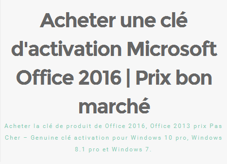 Acheter une cl d 39 activation microsoft office 2016 acheter la cl de produit de office 2016 - Cle activation office pro 2010 ...