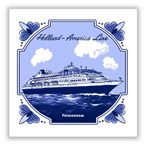 2012/2013 Mariner tile for the ms Prinsendam. #HAL #Mariner #Delft Will be sailing on her in May