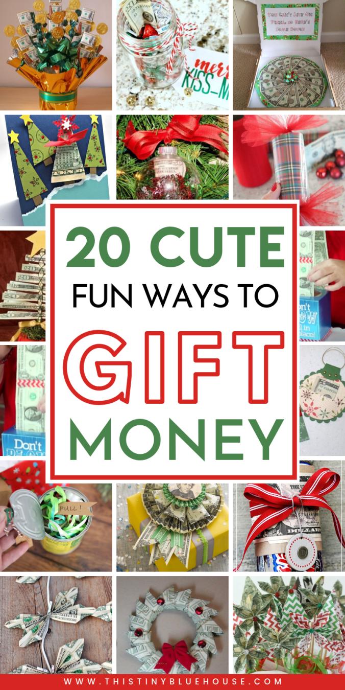 21 Best Creative Unique Christmas Money Gifts Christmas Money Holiday Money Gifts Creative Money Gifts