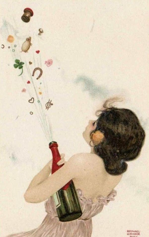 ~ Raphael Kirchner ~ Christmas