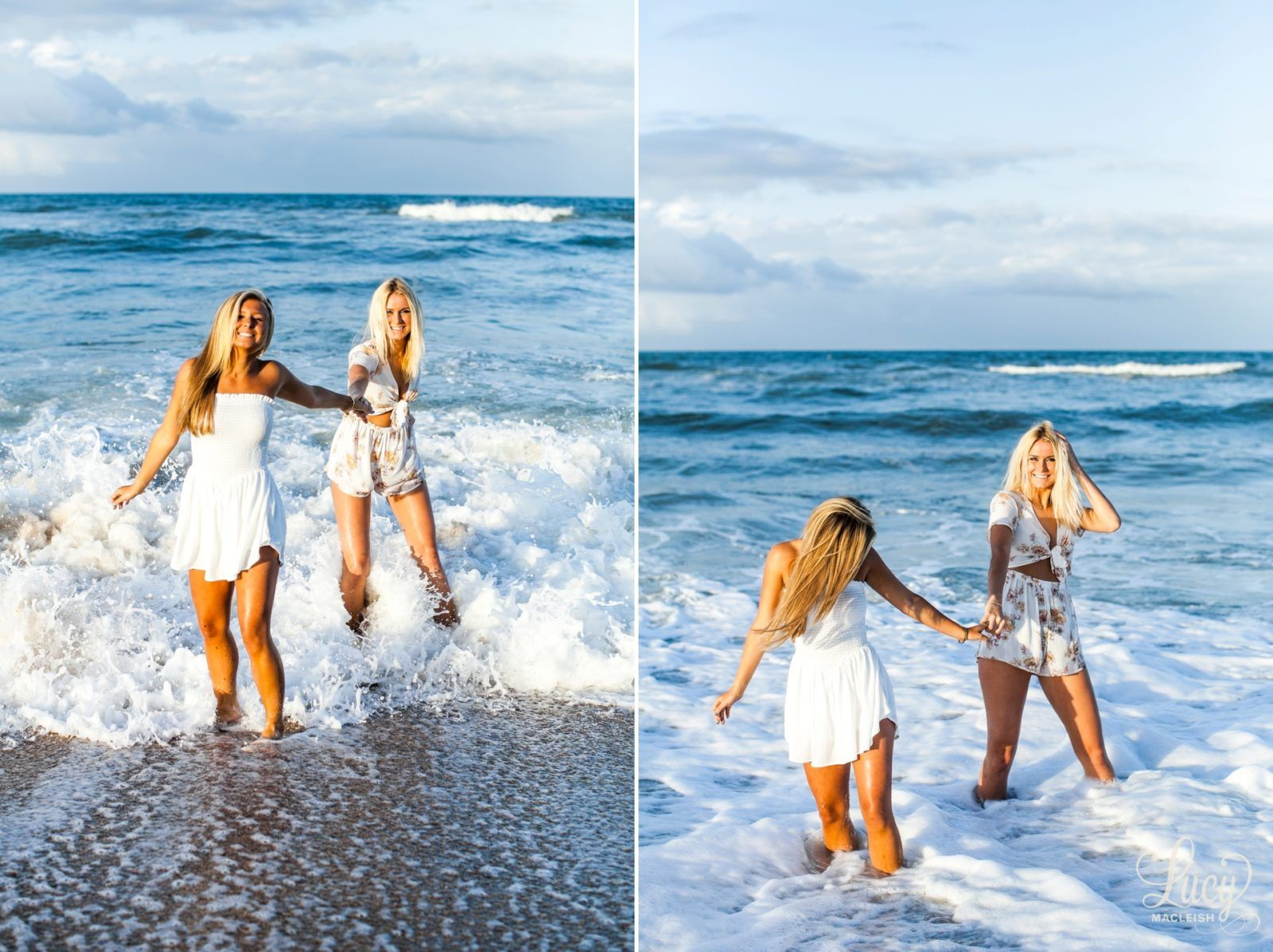 Senior Shoot With Best Friends At The Beach New Smyrna