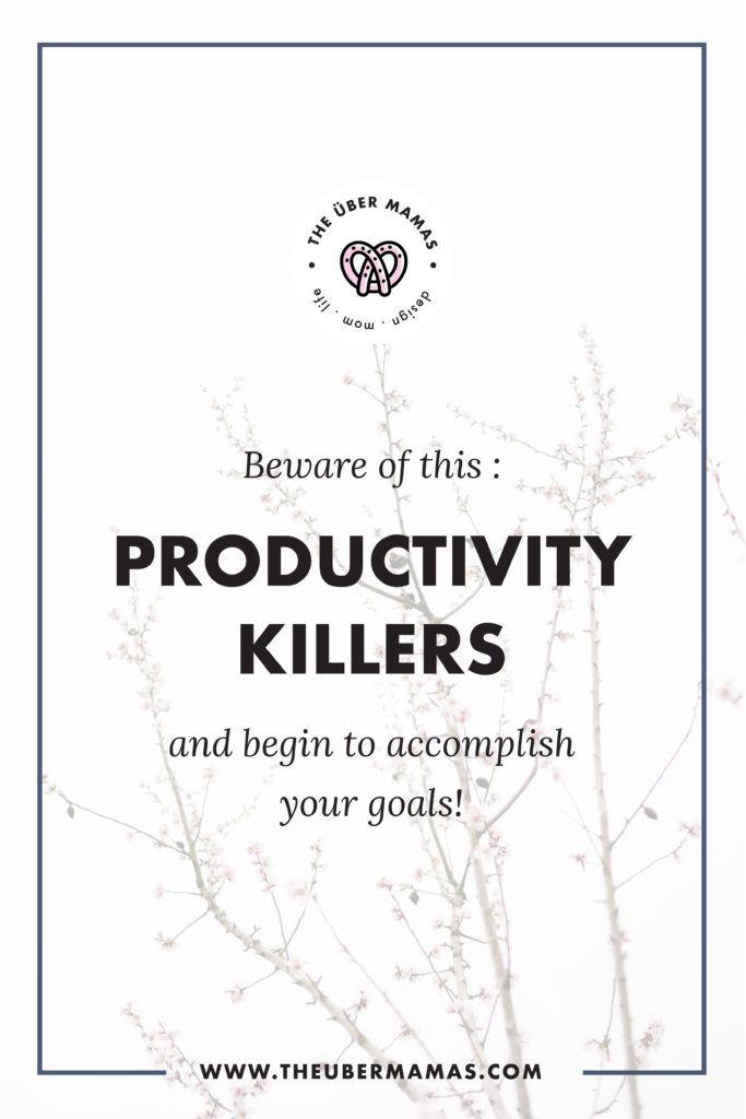 Productivity Killer mine Pinterest Productivity and Success