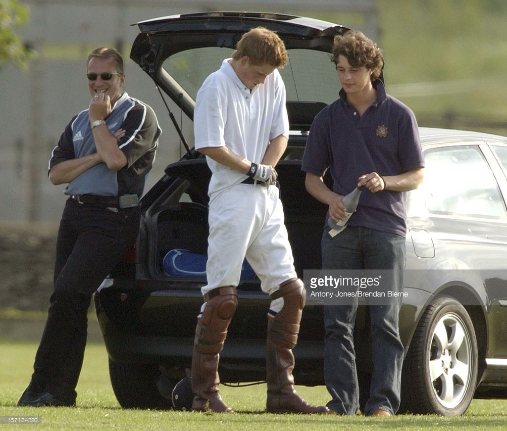 Prince Harry Plays Polo At The Beaufort Polo Club After