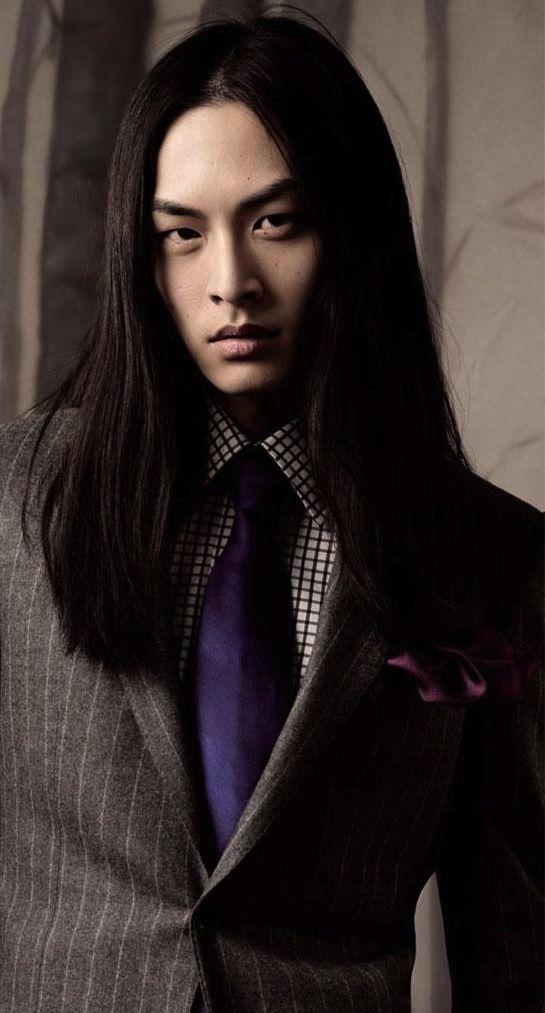 David Chiang Asian Men Long Hair Long Hair Styles Men Asian Male Model