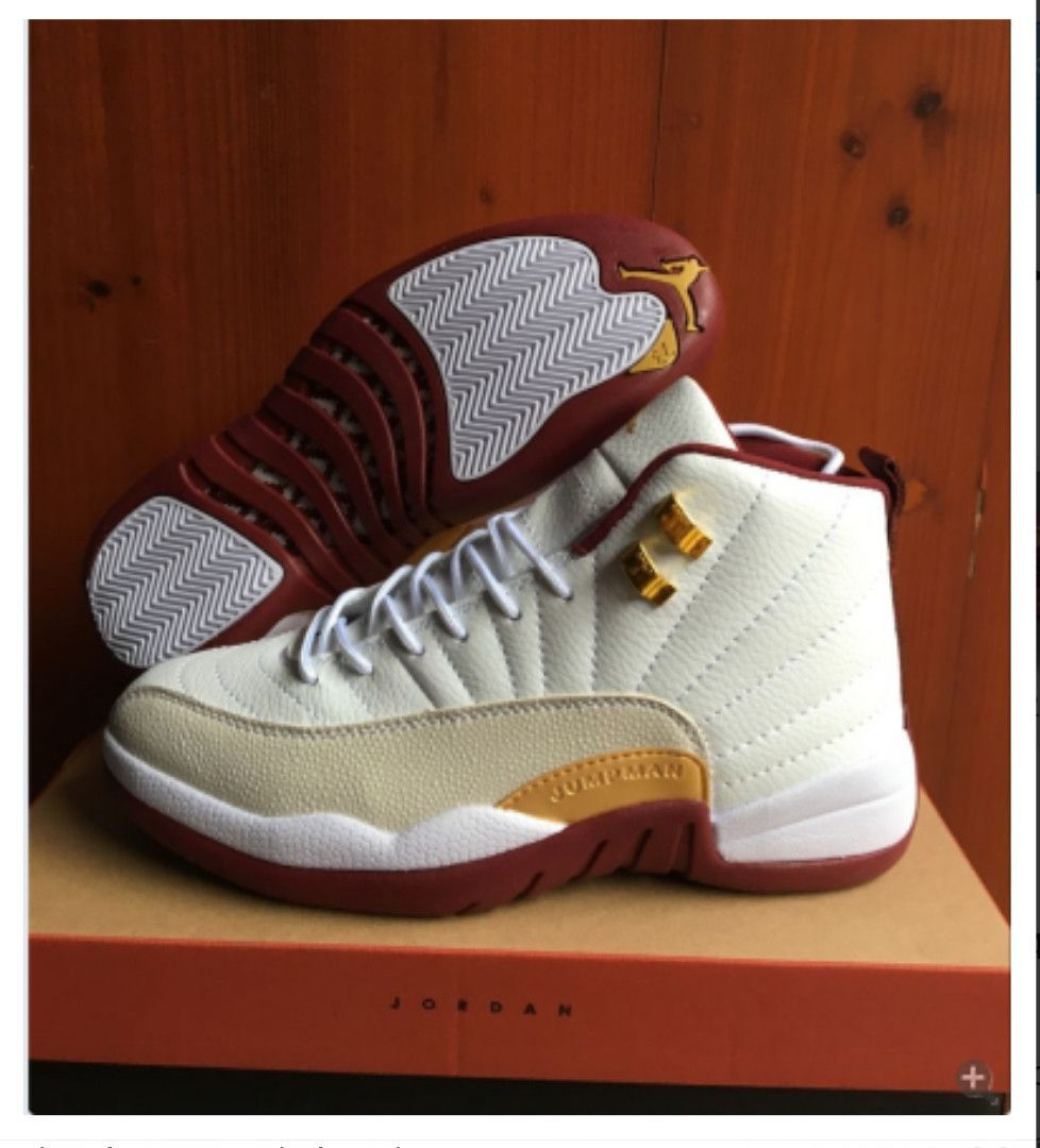 f6dedff0548 Nike Jordan 12 Cavaliers team colors. Nike Jordan 12 Cavaliers team colors Air  Jordan Basketball Shoes ...