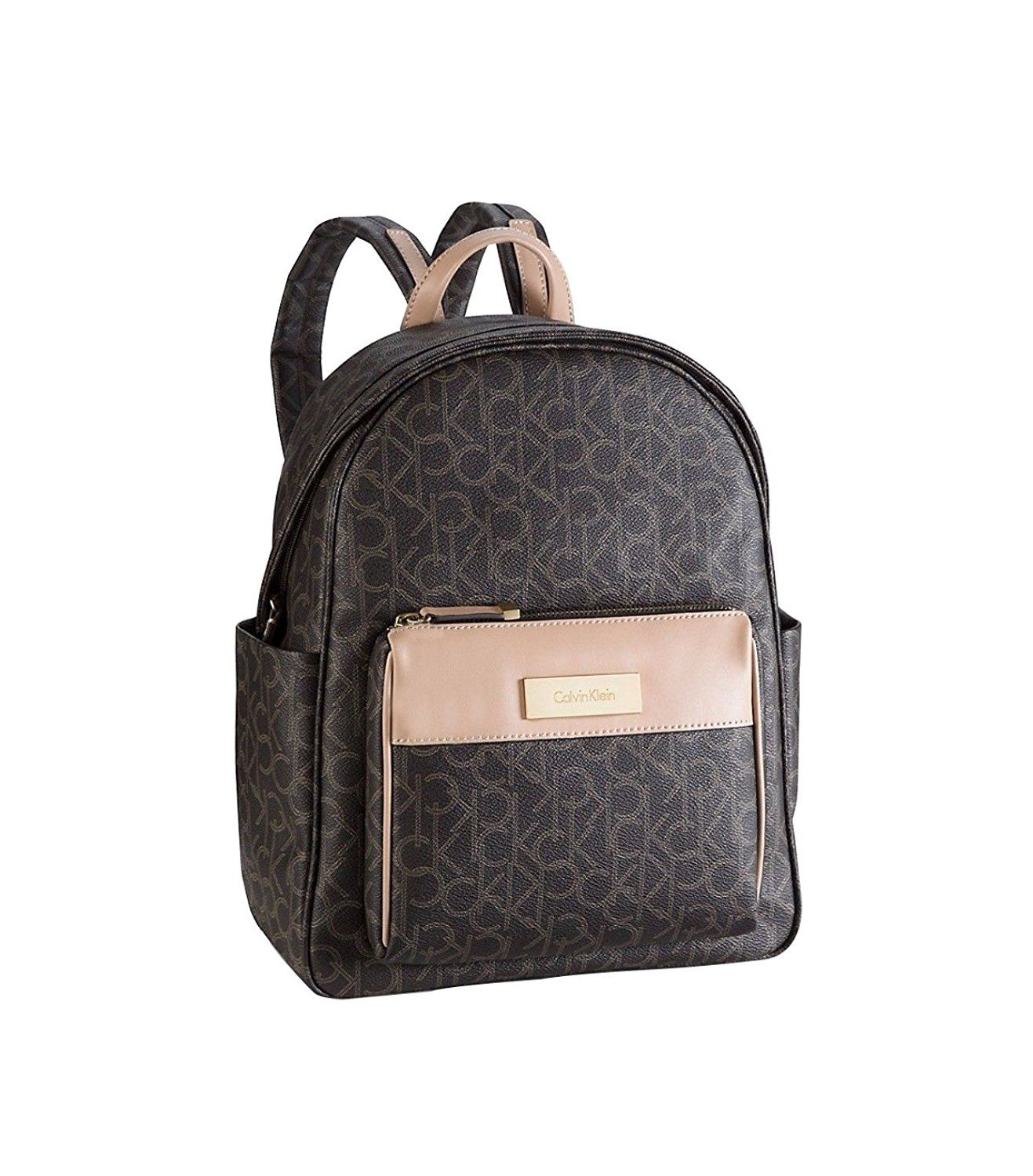 5e21d5afb Calvin Klein womens jordan logo utility backpack brown color * Find out  more about the great product at the image link. (This is an Amazon  Affiliate link ...