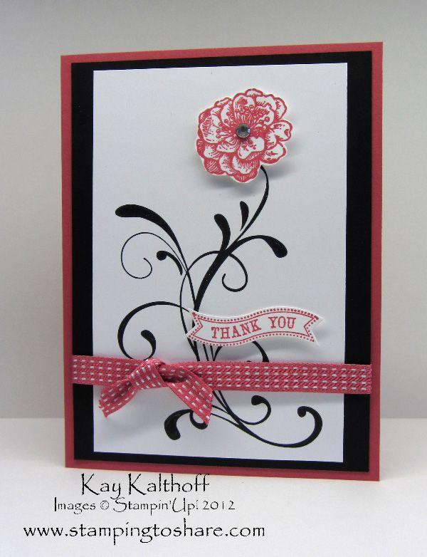 Stamping to Share: 6/4 Stampin' Up! Everything Eleanor and a Graduation Celebration