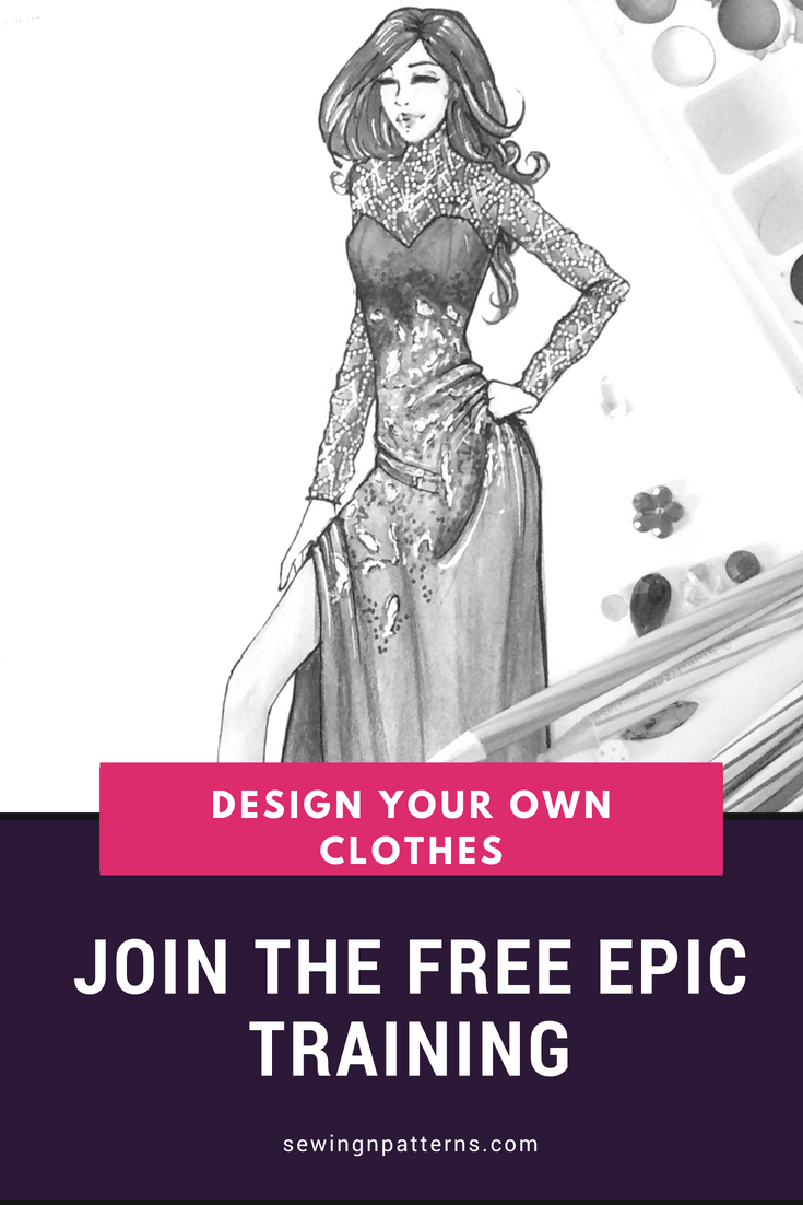 Learn How To Design Your Own Clothes Freelance Fashion Designing