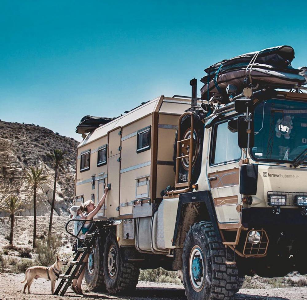Heavy Duty – Familie Frings unterwegs im MAN KAT10-Expeditionsmobil