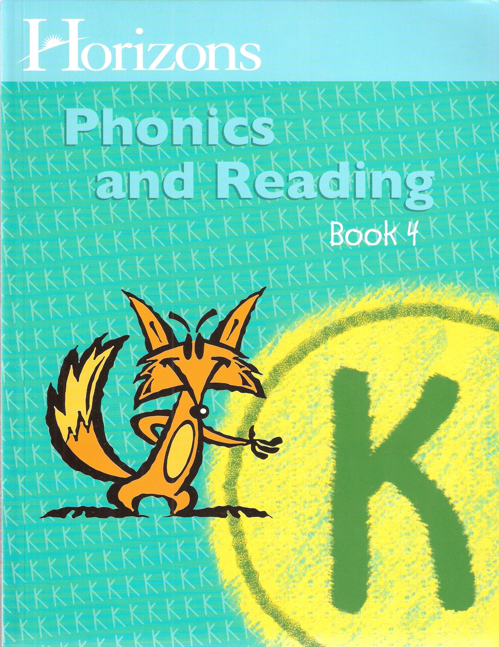 Horizons Phonics Reading Wkbk 4 Second Harvest Curriculum Phonics Reading Phonics Phonics Kindergarten Reading horizons student workbook pdf