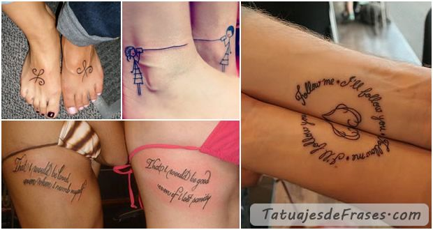 Frases De Amistad Para Tatuajes Chavela Pinterest - Tatuajes-de-frases-de-amistad
