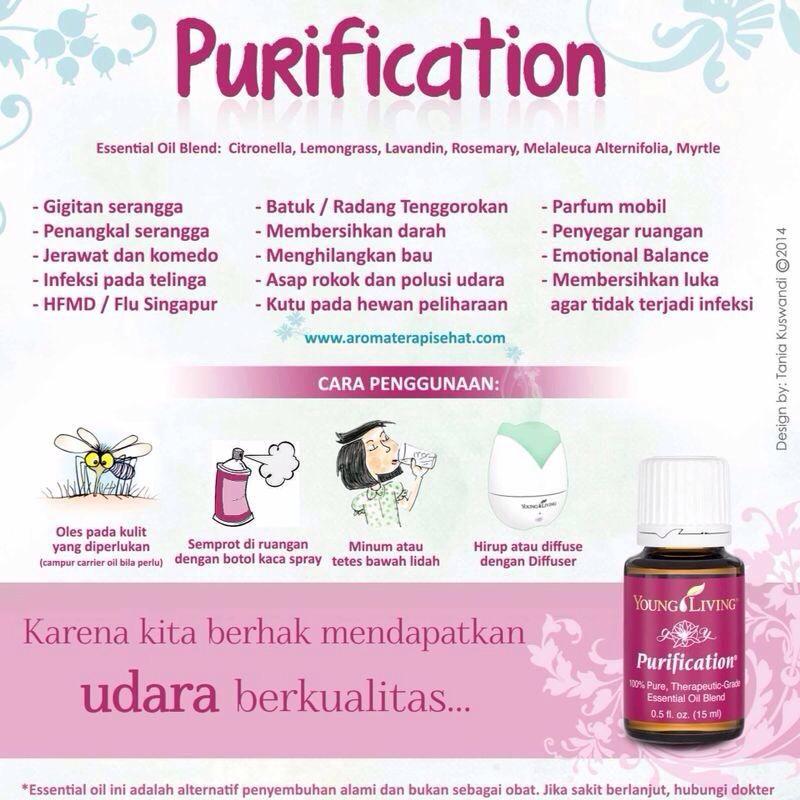Purification Young Living Oils Minyak Esensial Melaleuca