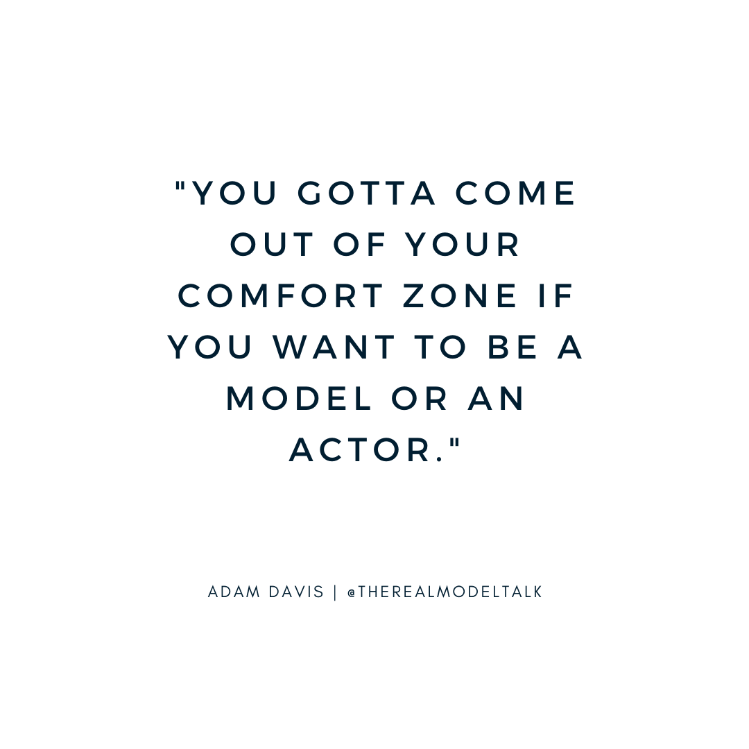 model and actor quote