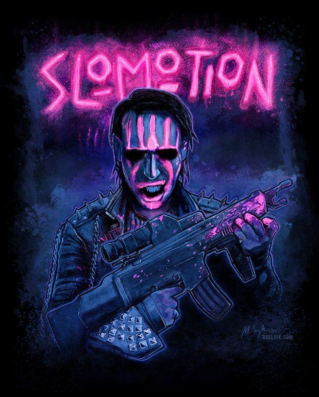 Slo-Mo-Tion by bullsik | Marilyn Manson | Pinterest | Marilyn ...