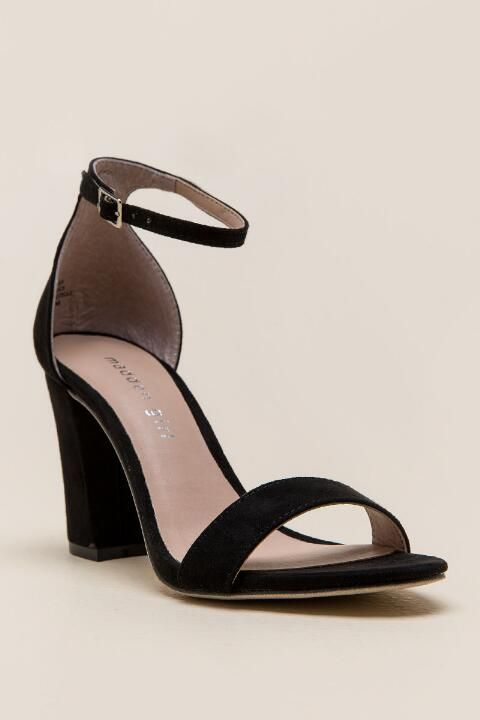 1a792e7b9a9 Madden Girl - Beella Ankle Strap Block Heel-Taupe
