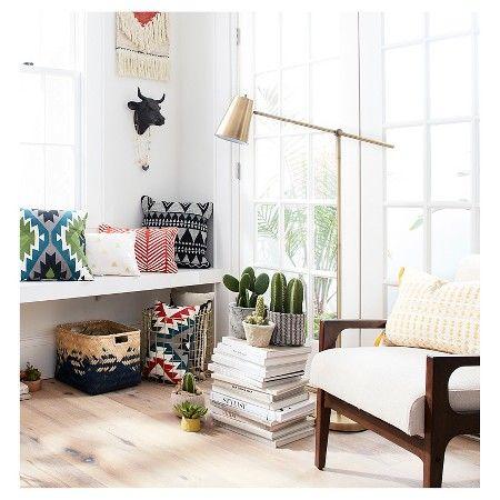 Cantilever floor lamp brass threshold target 40 24