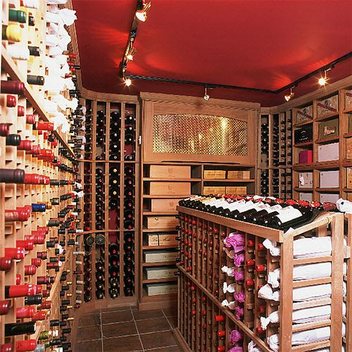 Painted Ceiling Wine Cellar Farrow Ball S Eating Room Red By Xjavierx Via Flickr