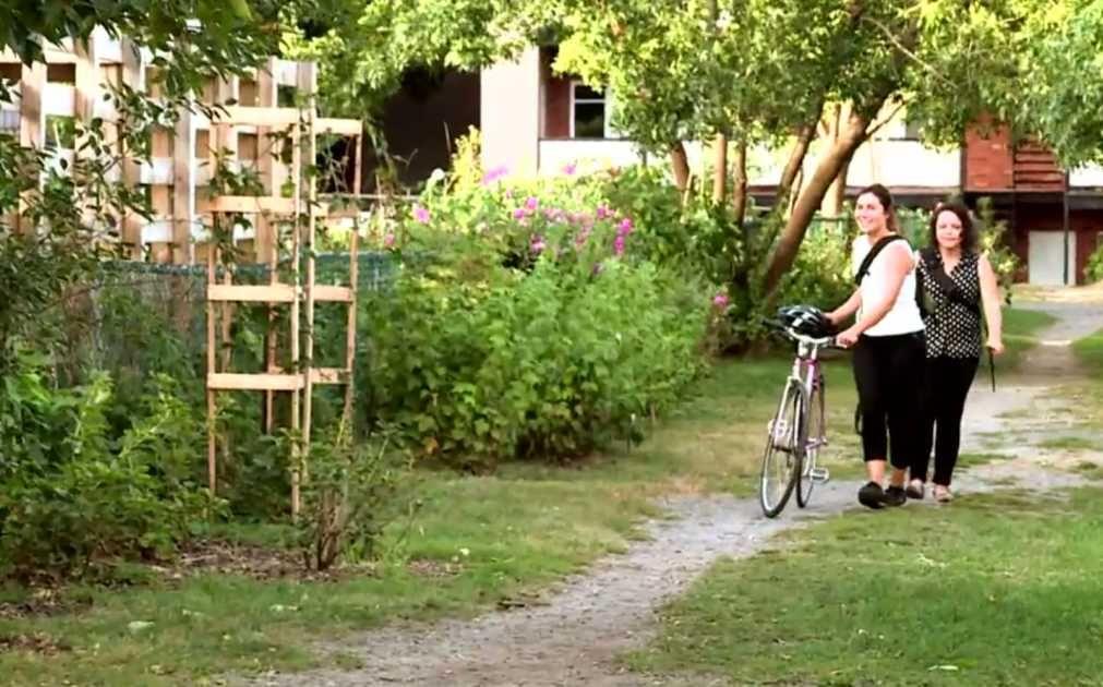 Une ruelle verte d\u0027un nouveau genre a vu le jour dans la métropole - Ou Trouver De La Terre De Jardin