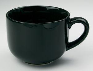Jumbo Black Soup Mug 24oz
