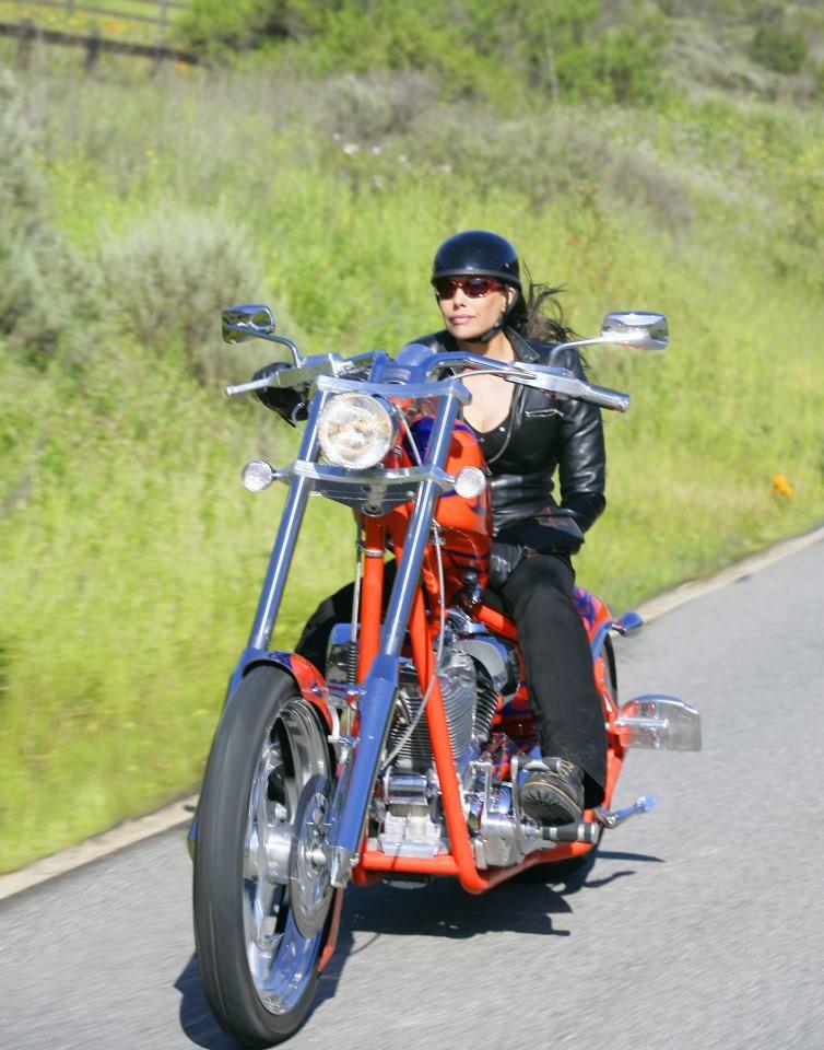 Chopper  Its A Chopper Baby  Women Riding Motorcycles -4525