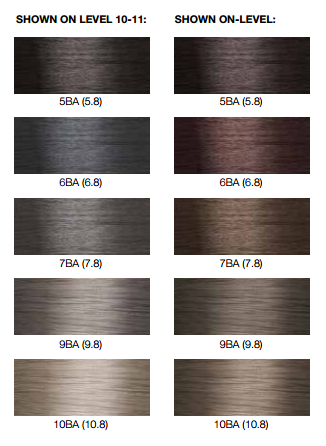 Lumishine Blue Ash Shades Joico Hair Color Hair Color Formulas Ash Hair Color