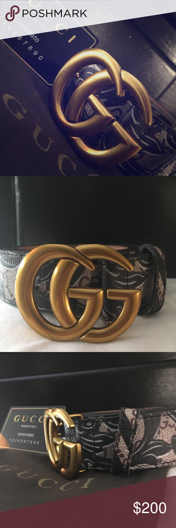 8cc91caaf authentic Gucci Belt Brand spankin new deal deal Gucci Accessories Belts