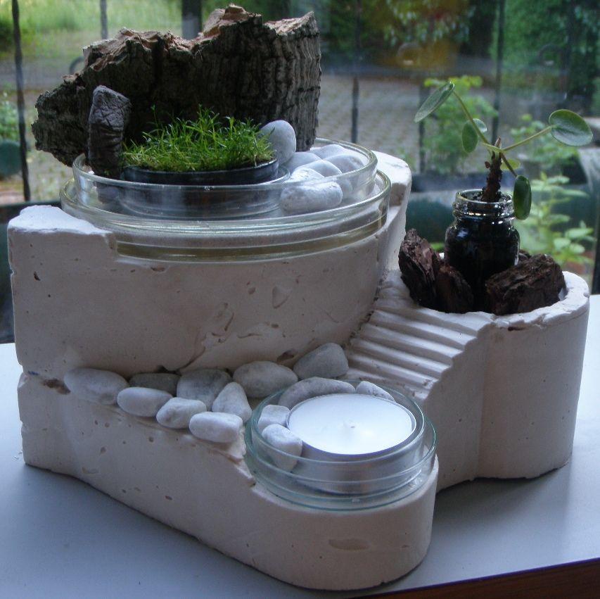 Merveilleux Mini Moss Garden | Mini Rock Garden By Truncus Cerebri On DeviantART