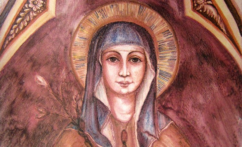 Saint Clare Of Assisi Clare Of Assisi St Clare S Assisi
