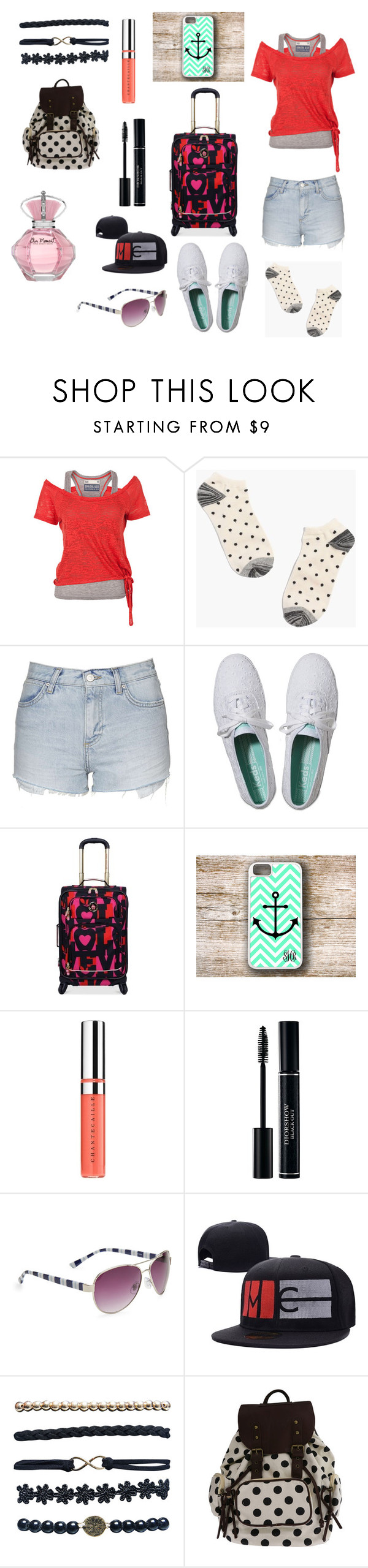 """""""Untitled #292"""" by ramisha405 ❤ liked on Polyvore featuring Soul Cal, Madewell, Topshop, Keds, Chantecaille, Aéropostale and Wet Seal"""