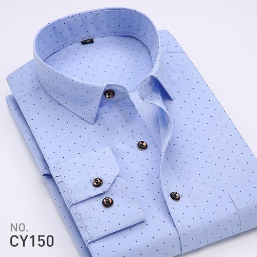 Spring Fashion Men Casual Shirts Long Sleeve Butterfly Printed Social Floral Lightweight Thin Summer Men Dress Shirt