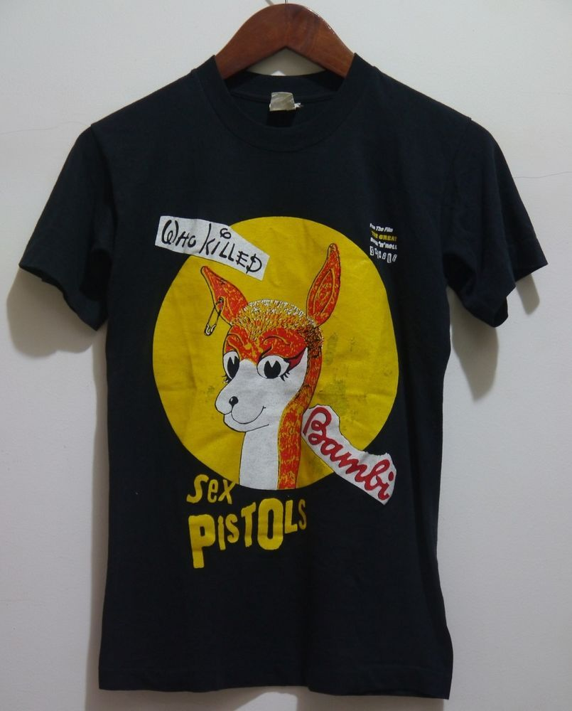 Pistol sex shirt t vintage