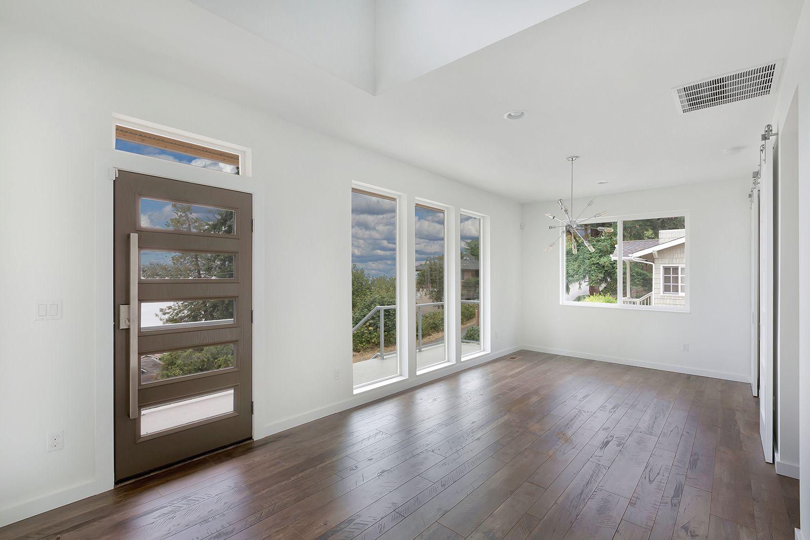. Great Northwest Homes   Modern Homes  Ultra Modern Front door  Codel