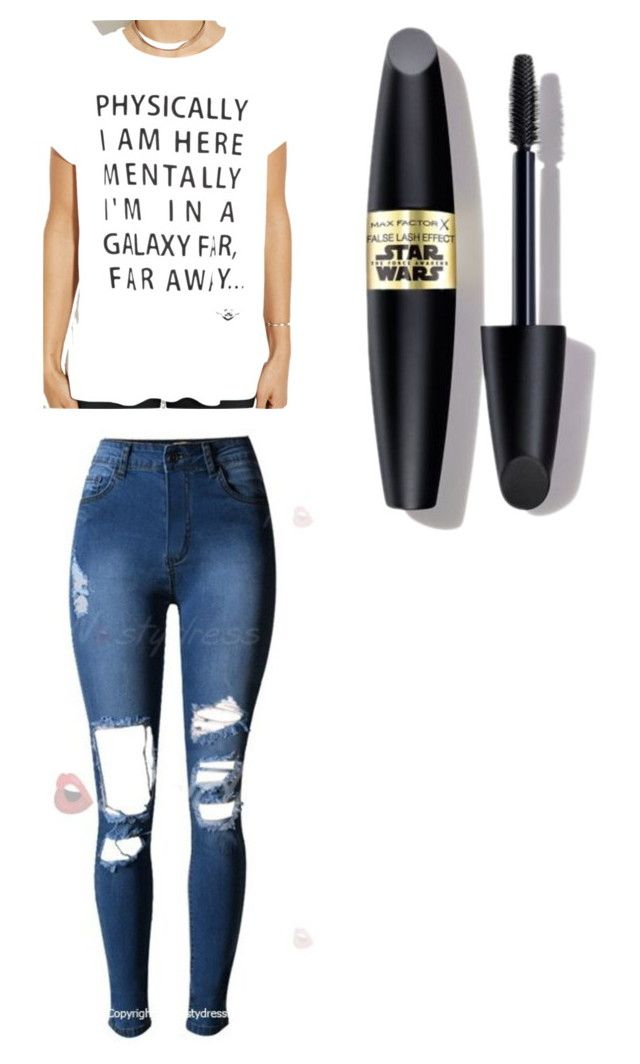 """""""Untitled #390"""" by kyrapples on Polyvore featuring Forever 21 and Max Factor"""