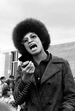 Photography Angela Davis Black Panthers Movement Women In History