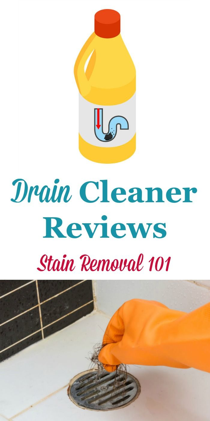 Drain Cleaners Reviews Which Products Work Best Clean
