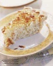 Easy Coconut Custard Pie Recipe Buttermilk Sky Pie Shop Coconut Custard Pie Coconut Custard