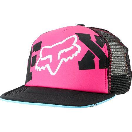 Fox Girls Endless Pink   Black Snapback Trucker Hat at Zumiez   PDP 92b81ef4c77d