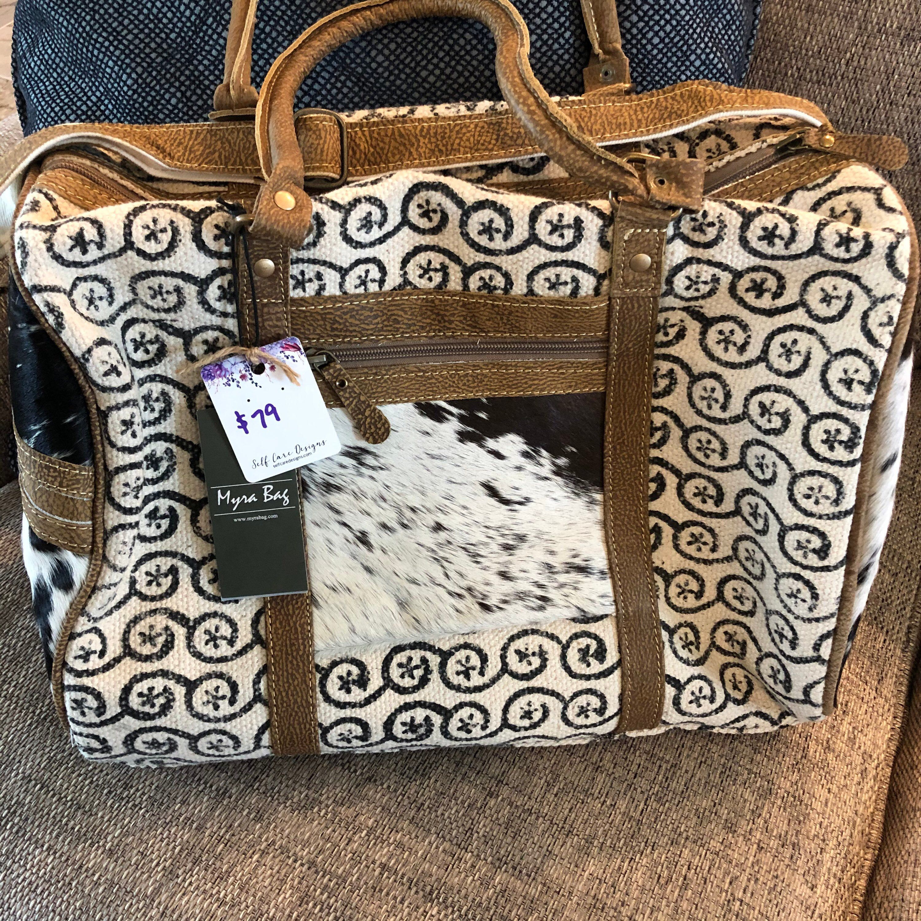 Myra Bag Hair On Hide Accented Canvas Overnight Bag Hair On Etsy In 2020 Cowhide Bag Bags Leather Holdall You have no items in your shopping cart. pinterest