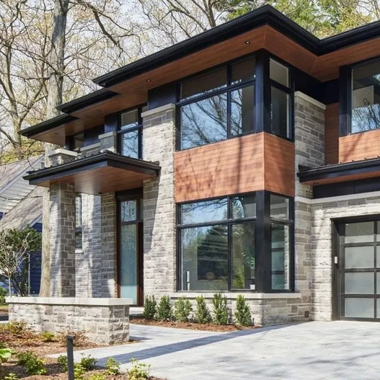 65 Best Modern Exterior Home Architectural Styles And Designs Housedesign Modernhouse Exteriord Modern Exterior Contemporary House Contemporary House Design