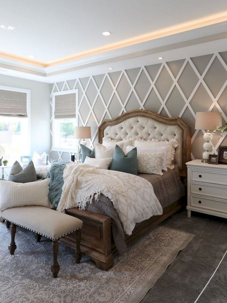 65 lovely rug for farmhouse bedroom decorating ideas