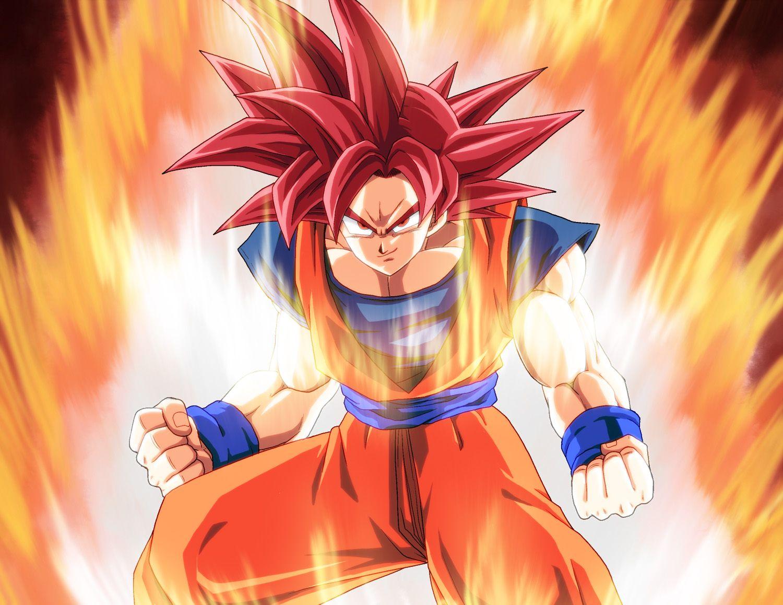 Well-known Dragon Ball Z Battle Of Gods Super Saiyan God Goku Wallpaper #2632  UO07