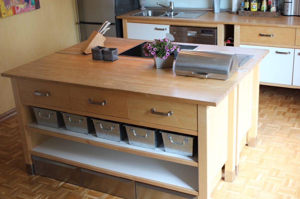 IKEA Värde Küche - Unterschrank (gross) Set (5 Metallkästen ...