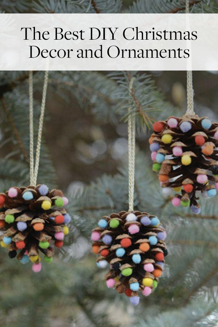 Pretty Christmas Decor You Can Make Yourself