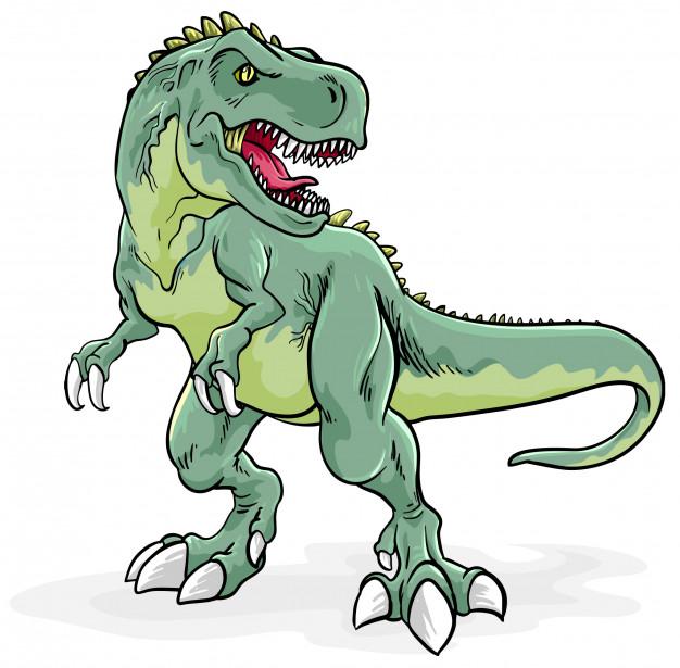 Ilustracion De Tyrannosaurus Rex Vector Premium En 2020 Dinosaurio Rex Dibujo Dibujo De Dinosaurio Ilustraciones De Animales