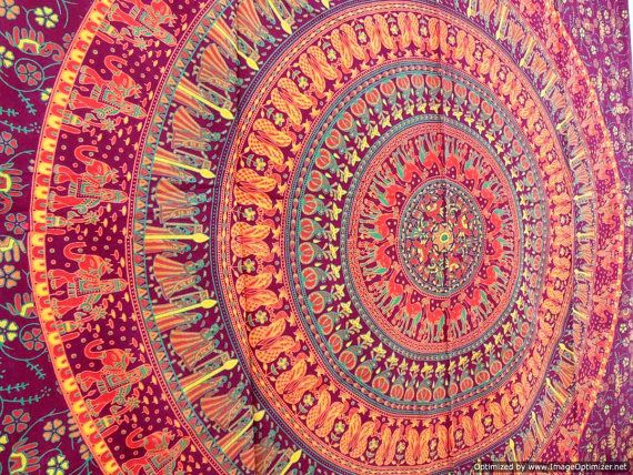 Indian Wall Decor mandala tapestry tapestries, indian tapestry, hippie tapestry