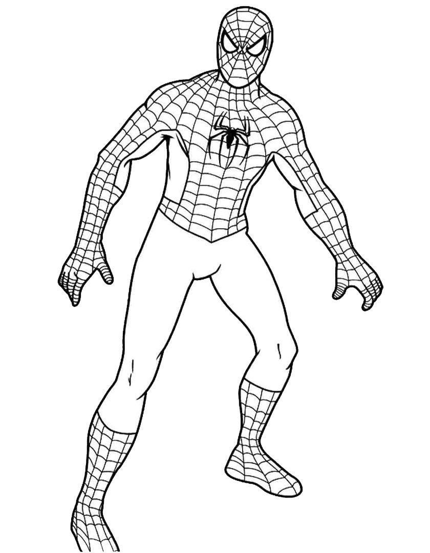 Spiderman Da Colorare Cerca Con Google Nel 2019 Colori